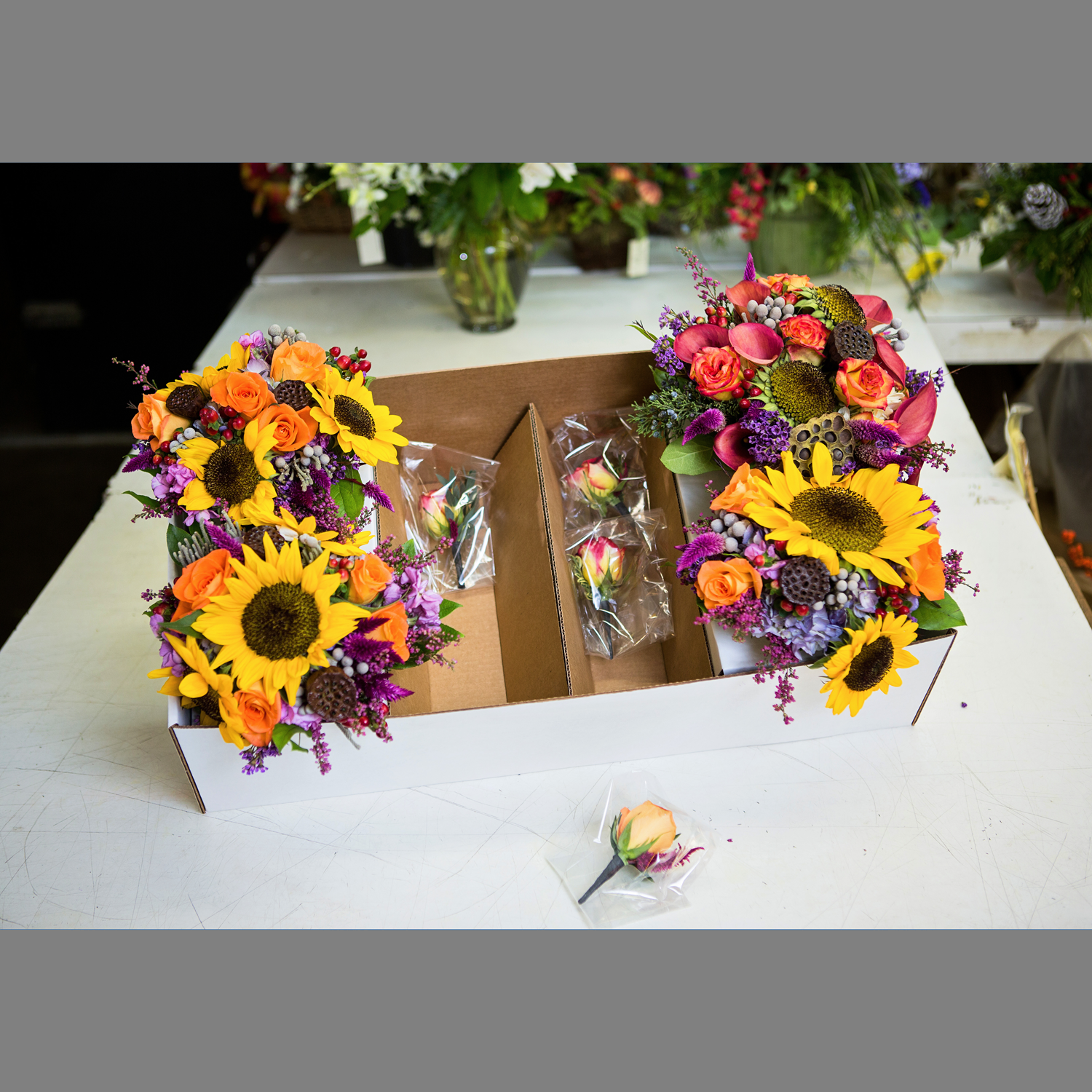 Wedding Delivery Box